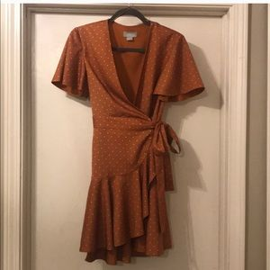 Finders Keepers Wrap Dress